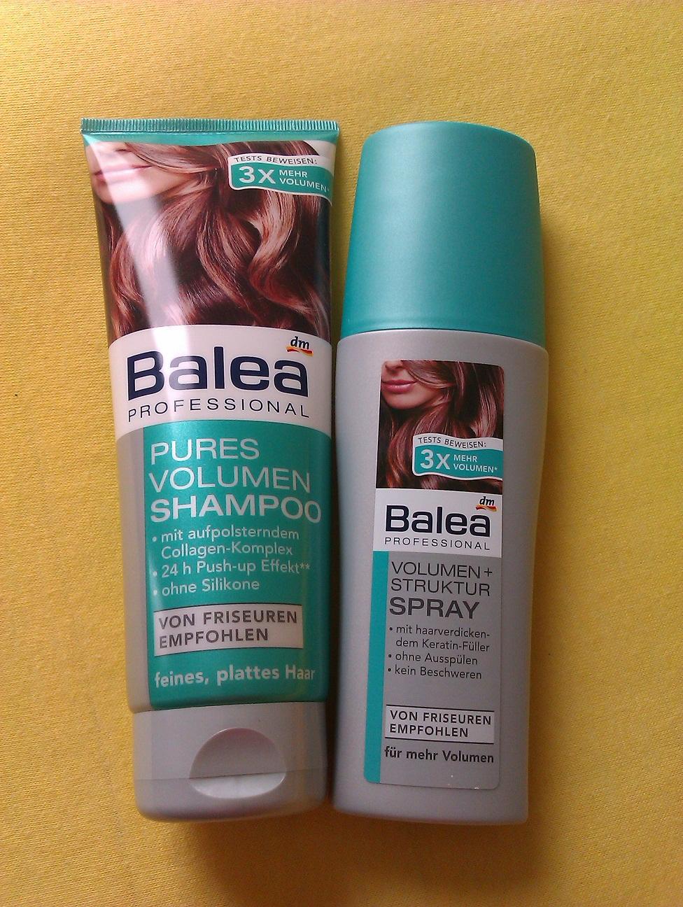 balea pures volumen shampoo fazit babsi s beauty gossip. Black Bedroom Furniture Sets. Home Design Ideas