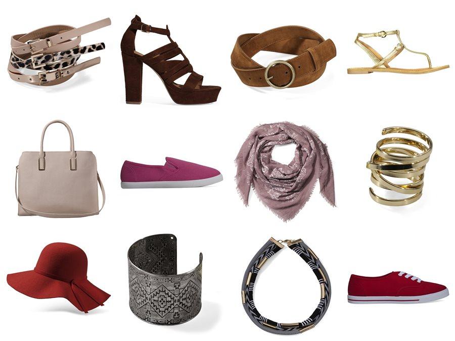 Accessoires und Schuhe