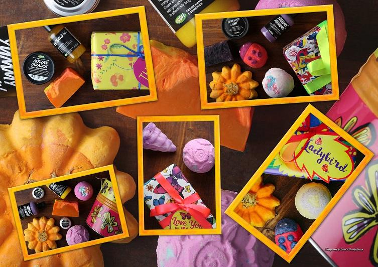 Collage Geschenke Muttertag