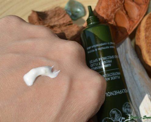Caudalie Polyphenol Antifaltenfluid swatch