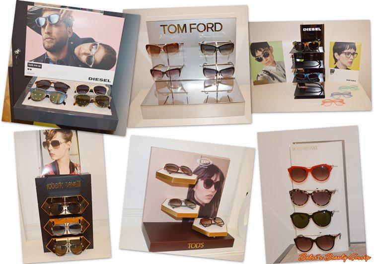 Collage Sonnenbrillen