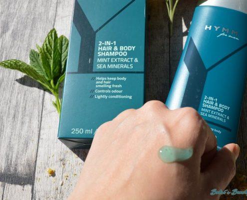 Hymm Hair & Body Shampoo swatch