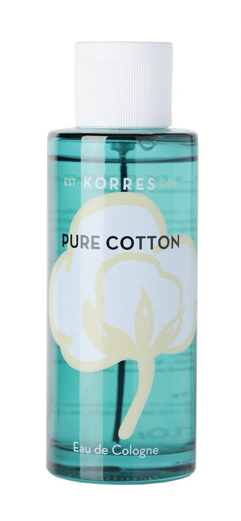 KORRES_PURE COTTON_EAU DE COLOGNE
