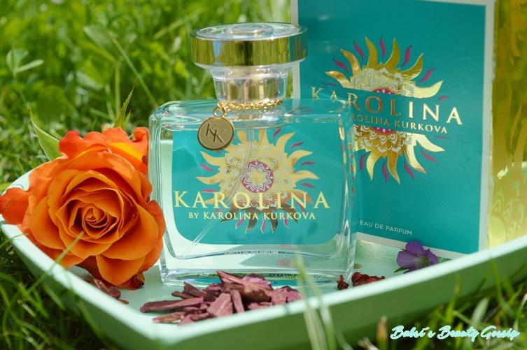 Karolina Kurkova Parfum mit Verpackung