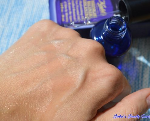 Kiehls Midnight Concentrate swatch