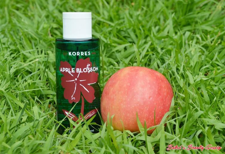 Korres Apple Blossom Postbild