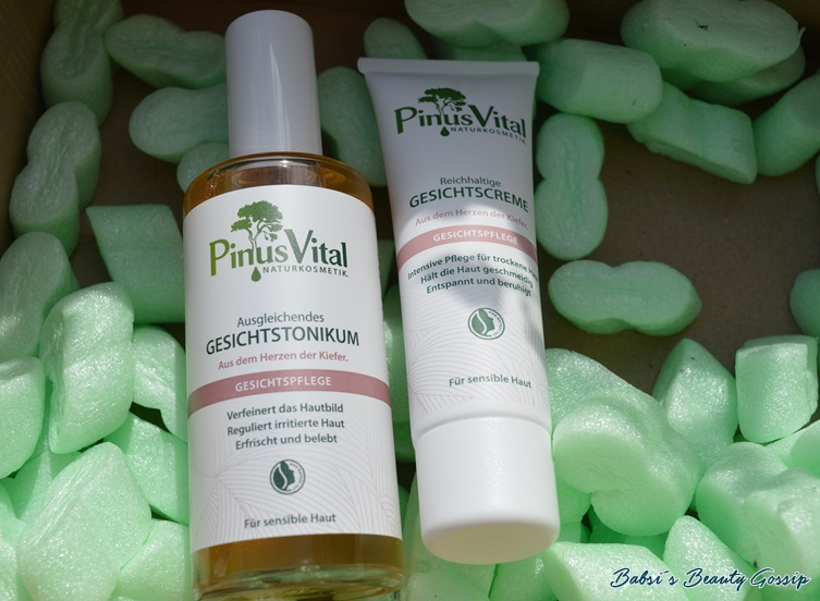 Tonikum und Creme Pinus Vital