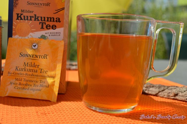 Milder Kurkuma Tee Sonnentor Rooibos & Vanille